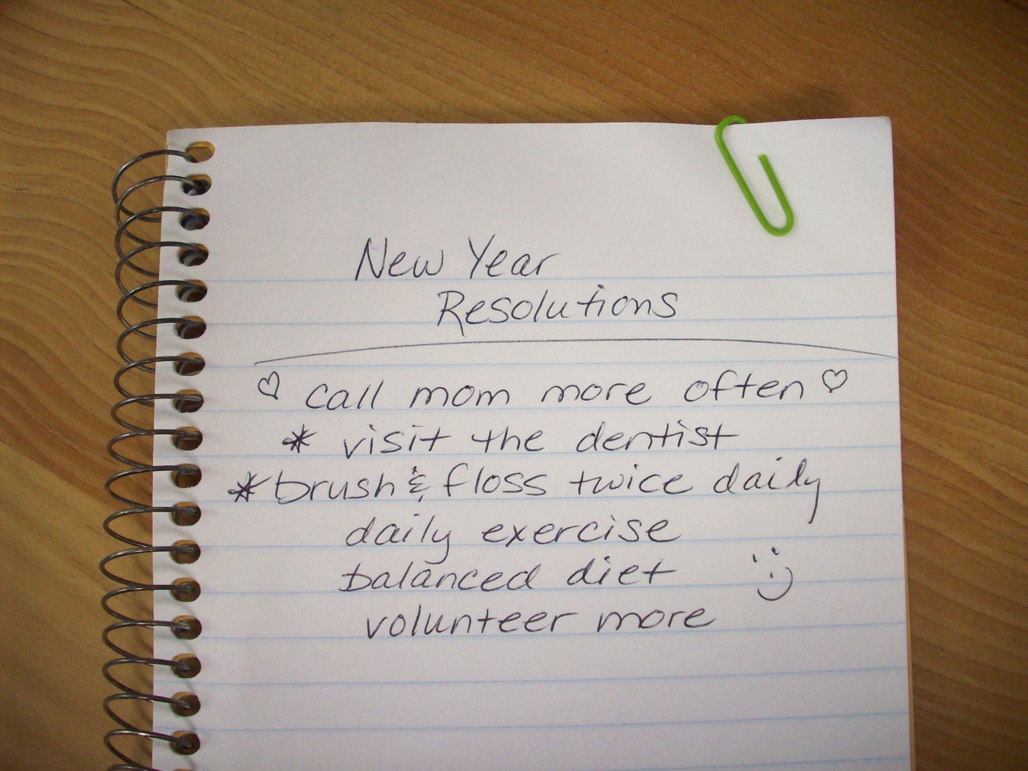 Resolutions at Seasons of Smiles Dental