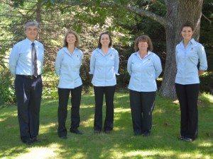 Dr. Medina, Lanita, Laura, Nellie and Krista