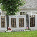 Veteran's Memorial on Union Common in Union, Maine