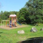 Playground at Payson Park in Warren, Maine