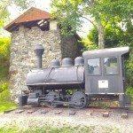 Vulcan Steam Locomotive, Rockport Maine.