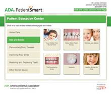 ADA PatientSmart – Patient Education Center