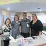 The crew - Meredith Batley, Anastasia Snow, Dr. Medina and Autumn Therrien