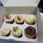 A box of Cupcakes from Mason's Creations.