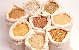 Bags of foods that are rich in Phytic Acid