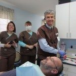 Team Seasons of Smiles Dental, hard at work.