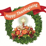 Happy Thanksgiving Wreath 2013