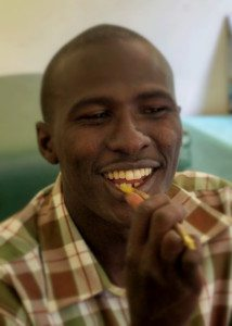 When in Kenya, brush your teeth like the Kenyan's do!