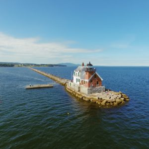 Breakwater Lighthouse Rockland Maine