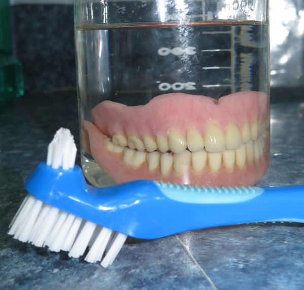 Cleaning your teeth in a cup?