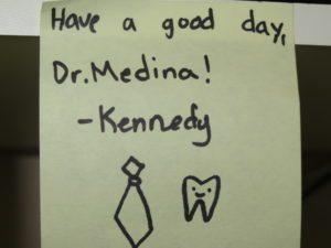 Dr. Medina's Note