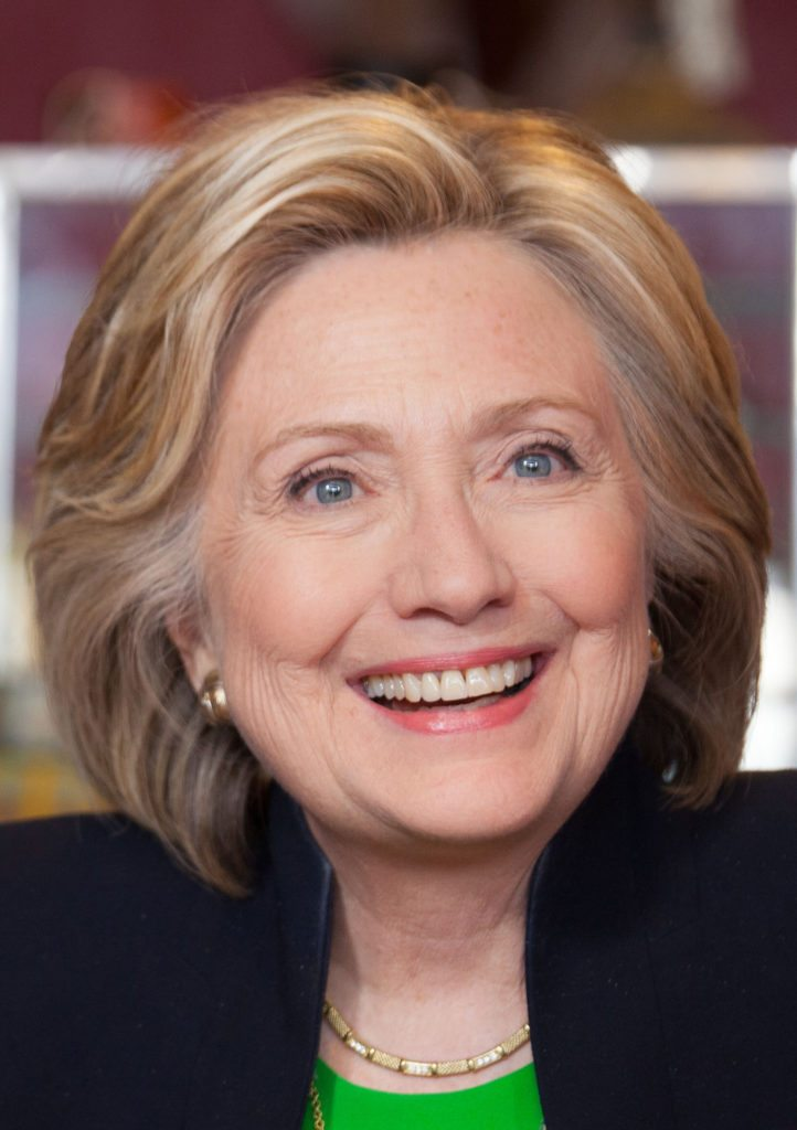 Hillary Clinton at an early campaign event in Iowa on April 14, 2015