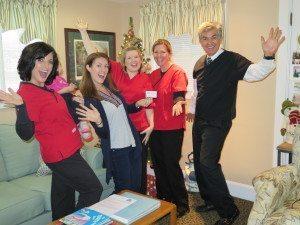 QDP Winner Crystal Hanson with Seasons of Smiles Team