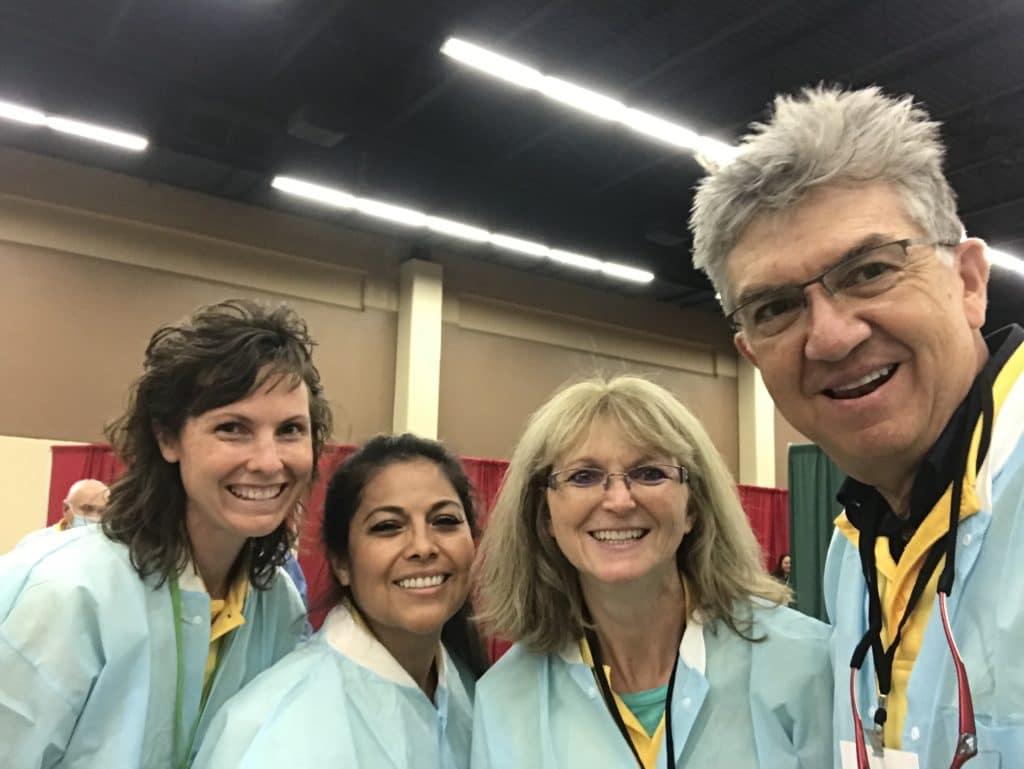 Kerri Lynn Hitt, Magdalena Rosa Love, Lanita and Dr. Medina