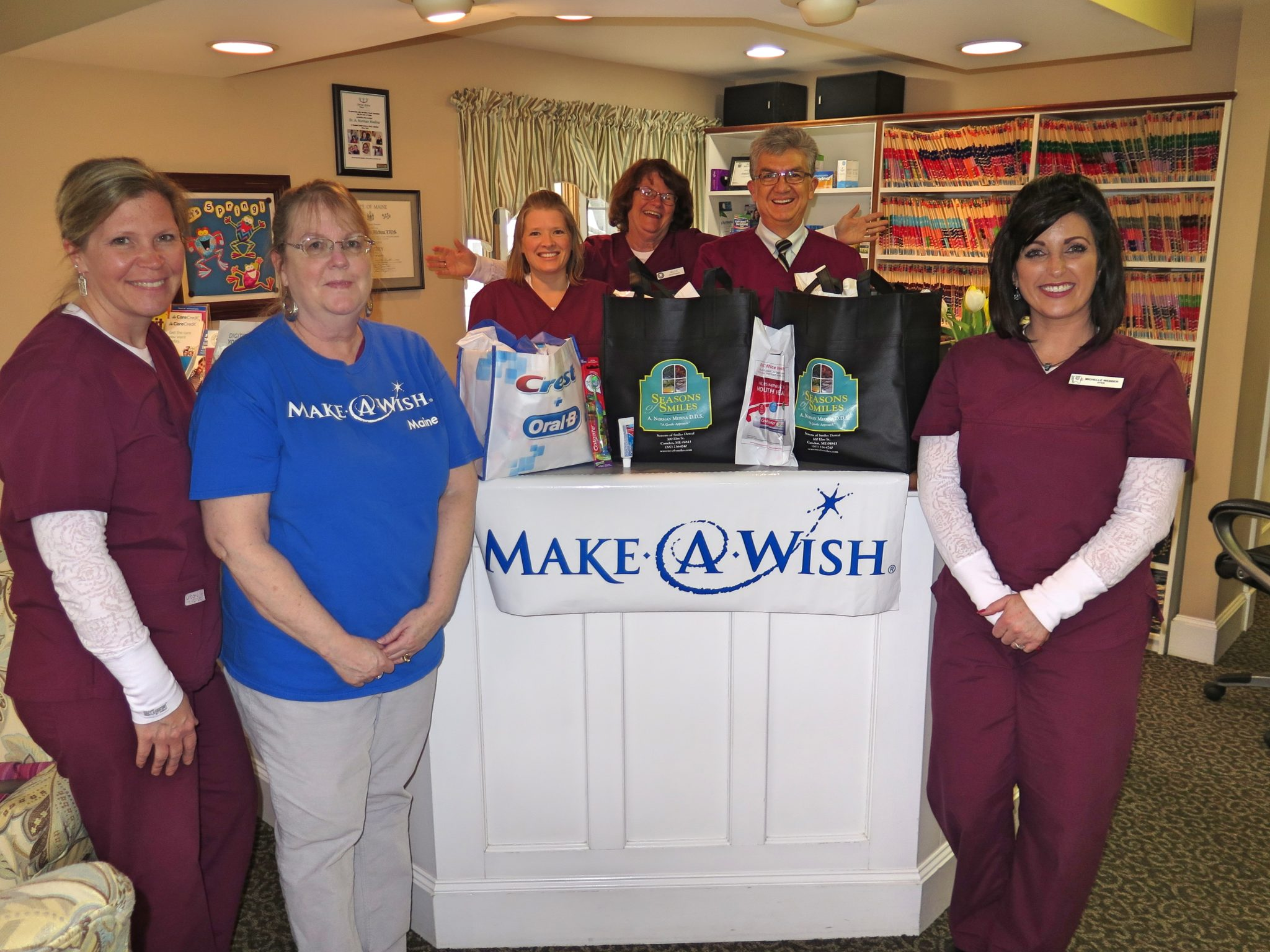 Make a Wish visits Seasons of Smiles Dental