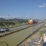 Awww, we get to see the Panama Canal. Miraflores