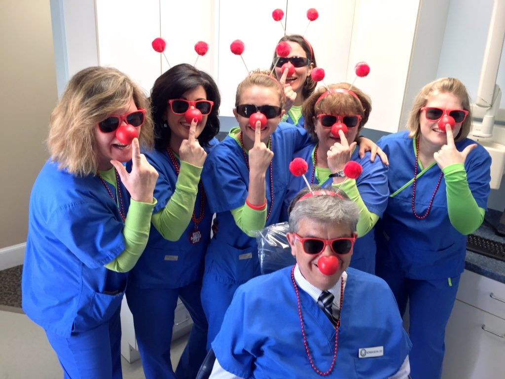 Seasons of Smiles Dental Celebrates Red Nose Day 2016