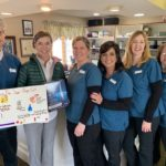 Tammy King and Local Appleton Students' Posters Promote Sparkling SmilesTammy