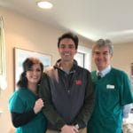 Michelle Webber, Simon Castle with and Dr. Medina