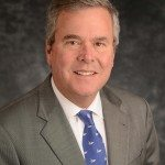 Jeb Bush Smiles - Nice – original stuff, edges a bit worn, great color.